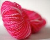 Kettle-dyed Baby Alpaca Yarn in Ekain - Hand-Painted - OOAK - DK Weight - 145 yards