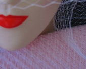 Pink (Light) Millinery Hat Veiling