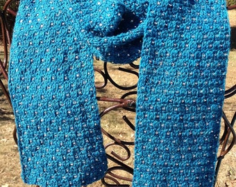 Easy Beaded Scarf Pattern