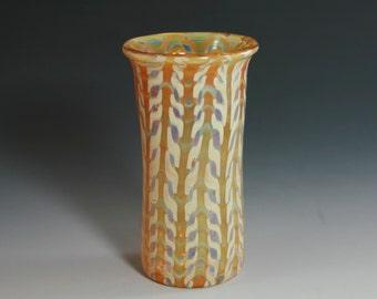 Hand Blown Bud Vase - Boro Shot Glass - Lampwork Glassware- Visionary Glass Arts