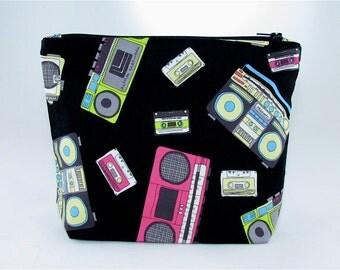 POUCH-Classic Boombox **handmade**