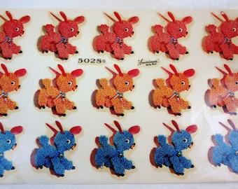 Vintage Original Decals / Betty Best Baby Animals/ American Decalcomania Co.
