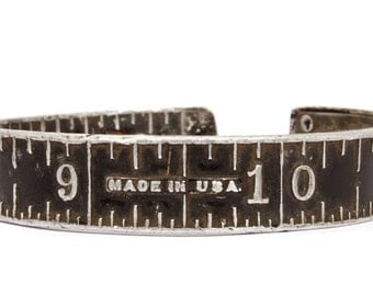 Vintage Stanley Ruler Bangle - 'Made in USA'