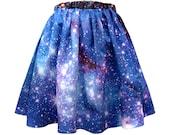 LMC Nebula Skirt, Galaxy Print, Organic Cotton