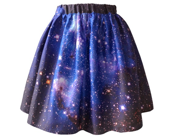 SAMPLE SALE. Large Magellanic Cloud Nebula Skirt