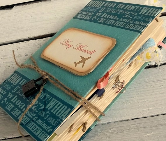 Scrapbook Journalpersonalized Junk Journal Smash Book Gift