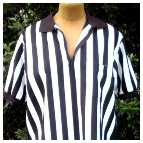 Older Referee Shirt for Halloween Fun Cosplay Costume or Upcycle   USE The COUPON CODE