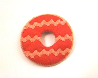 Pink Party Ring Brooch