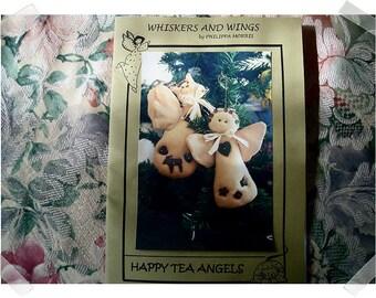 Happy Tea Angels PATTERN/Craft Supplies*