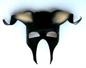 Minotaur Leather Mask (version 2)