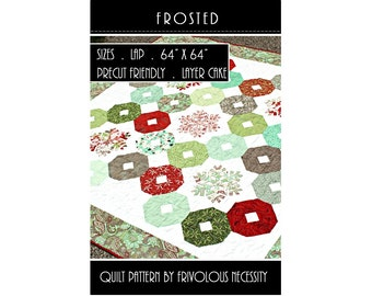 Quilt Pattern PDF Frosted -- Layer Cake Friendly
