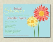 Spring Bridal Shower Invitation | Bridesmaids Luncheon Invitation | Baby Shower Invitation | Engagement Party Invitation | Wedding Party