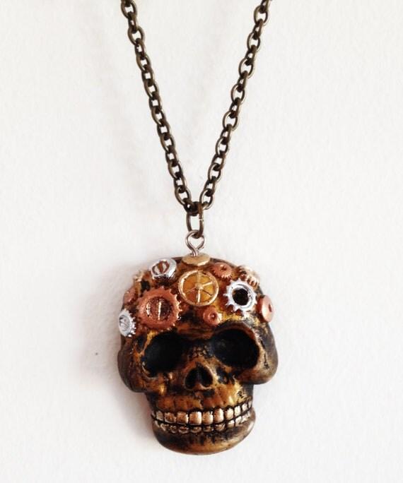Steam Punk Clockwork Skull