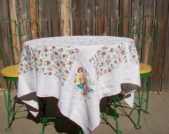 Cottage Chic Table Cloth