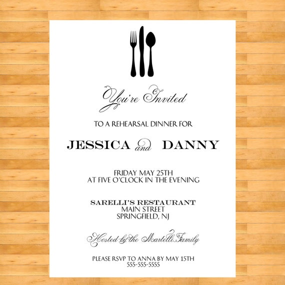 Doc564814 Free Dinner Invitation Templates Printable Elegant – Dinner Invitation Templates Free