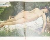 92 JUGEND Magazines Collection 1911 / 1912 Original German Art Nouveau Magazine Lot Jugendstil  Collectible  Illustrations Color Munchner