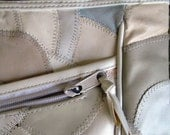 1980s ICE CREAM COLORS Leather Patched Purse