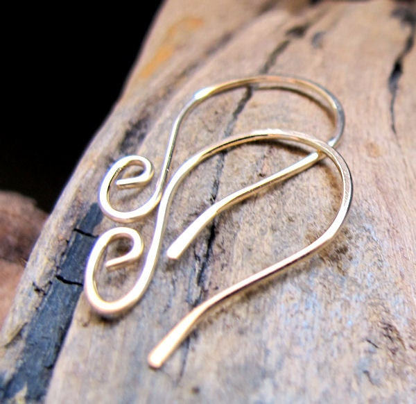 how to make french ear wires