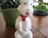 Vintage French Poodle  Liquor Container  Circa 1950s