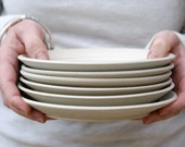 Made to order - a set of six custom side plates for your home