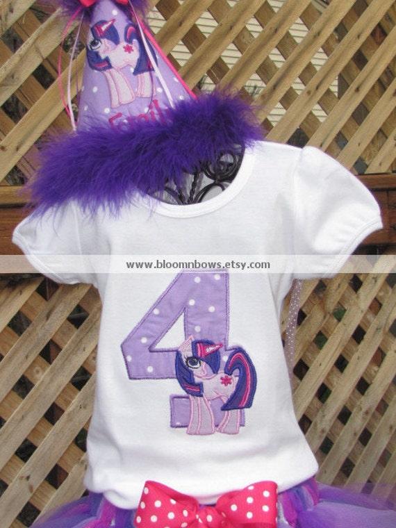 My Little Pony Twilight Sparkle Birthday Shirt Or Onesie