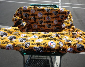 Pittsburgh Steelers Baby - Shopping Cart Cover