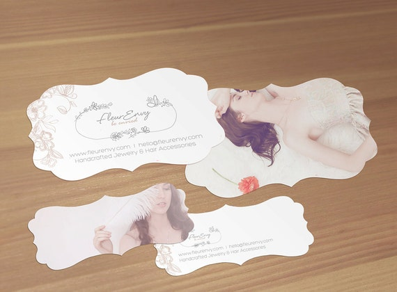photography custom double sided business card design