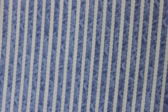 Penelope Periwinkle Ribbon Stripe  LH11048PERI Lakehouse Dry Goods French Fabric