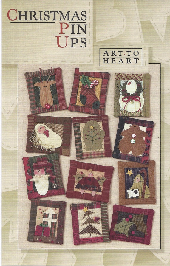 Christmas Pin Ups 140P by Nancy Halvorsen for Art to Heart