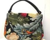 Vintage Embroidered Carpet Autumn Handbag by JACLYN