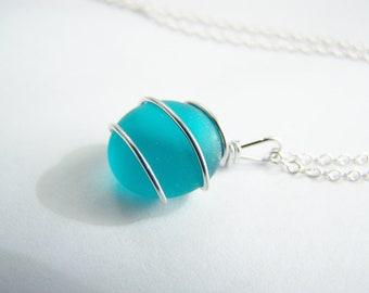 Tahitian Teal Necklace: FREE SHIPPING with another item - affordable gifts - bridesmaids sets - weddings