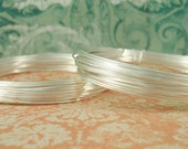 3 Coils of Fine Silver Wire with Copper Core - Half Hard YOUR CHOICE of Gauges