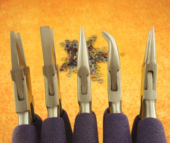SALE - 1 Next Step Chainmailler's Pliers Set -- Perfect for Intermediates and Beyond - Professionally Prepped
