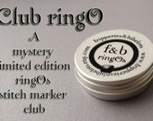 Club ringO v27 - Limited Edition Mystery Snag-Free Ring Stitch Marker Club