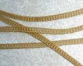 SilverSilk Gold 8 Needle 5 mm Flat Knit