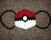 Pokemon Poke Ball Surgical Kandi Mask