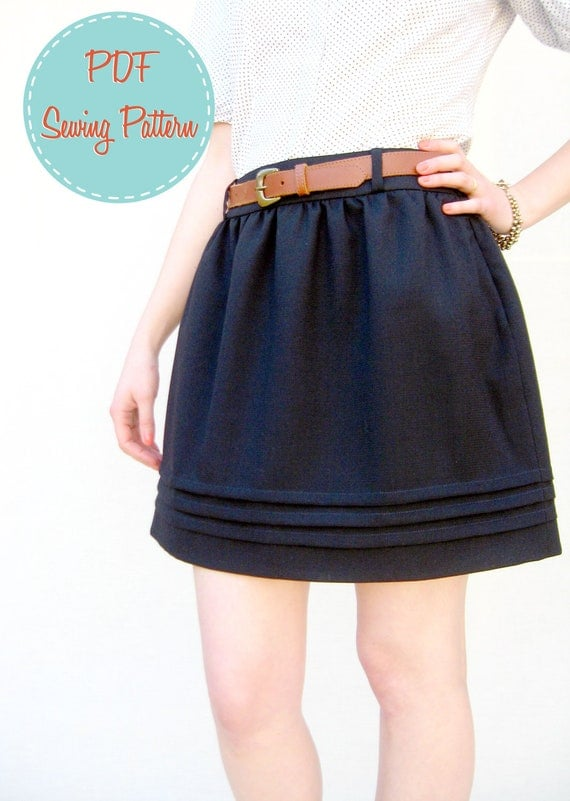 PDF Pattern - Claudia Skirt