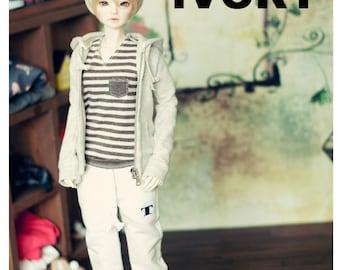 SD 13 Girl sweat pants - White