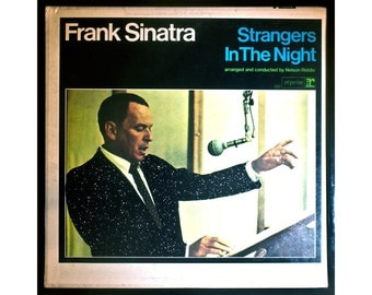 Glittered Frank Sinatra Strangers in the Night Album