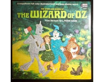 Glittered Wizard of Oz Album