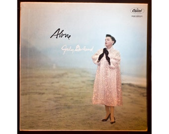 Glittered Judy Garland Alone Album