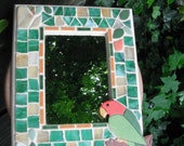 Parrot Mosaic Mirror
