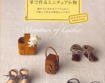 Miniature of Leather - Japanese craft book