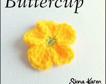 Buttercup Crochet Pattern PDF