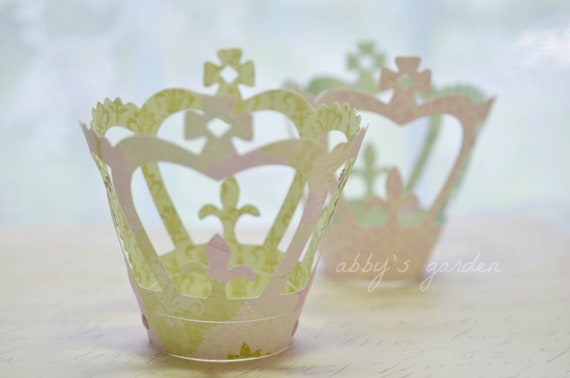 Princess Paper Crowns-set of 2