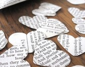 Shakespeare Confetti, Book Confetti, Recycled Books, Wedding Decoration Ideas, Table Confetti, Wedding Decorations