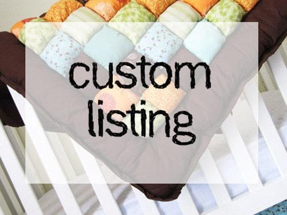 Custom Order for Lindsey