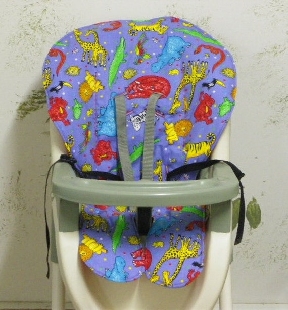 Graco High Chair Replacement Coverpad Fun Jungle