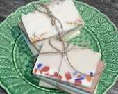 Travel Soaps / Sample sizes / 5 to 6 oz total / Artisan Soap / Cold Process Soap