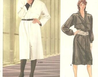 Vogue 1284 Dress sz 12 FF Vintage Pattern